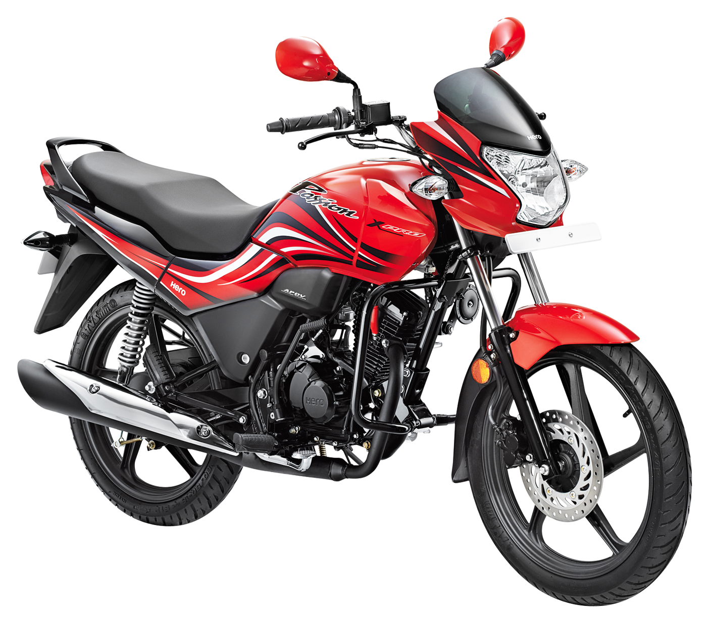 Hero passion xpro bike. Motorcycle clipart red motorcycle