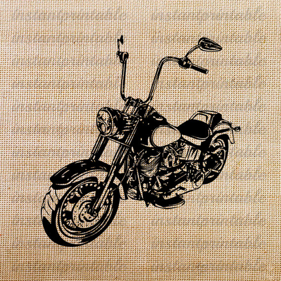 Motorcycle clipart retro motorcycle. Old download by