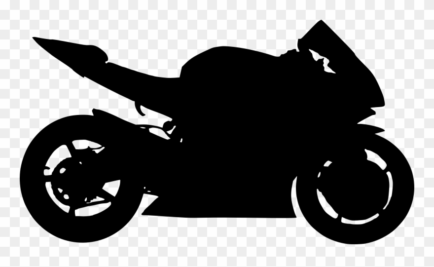 Motorcycle clipart silhouette.  silhouettes png