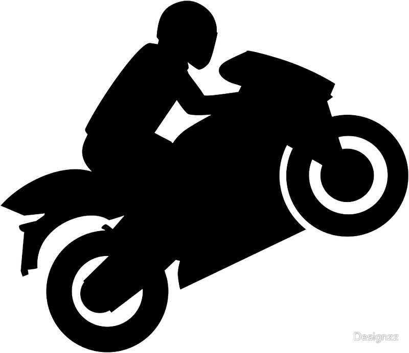 Free download best . Motorcycle clipart silhouette