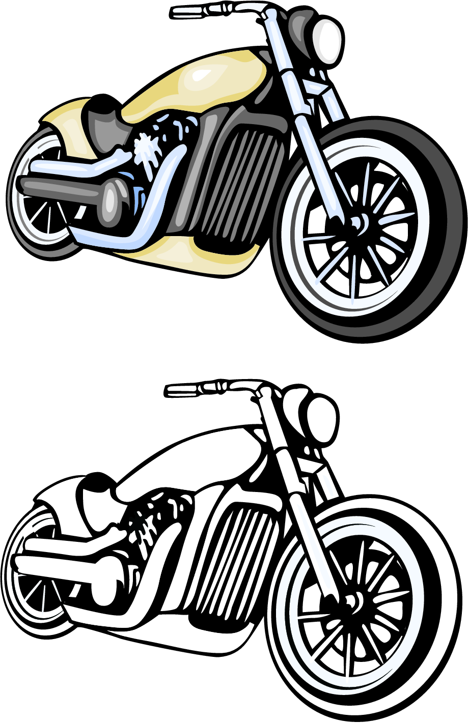 Free images motorcycles download. Motorcycle clipart simple
