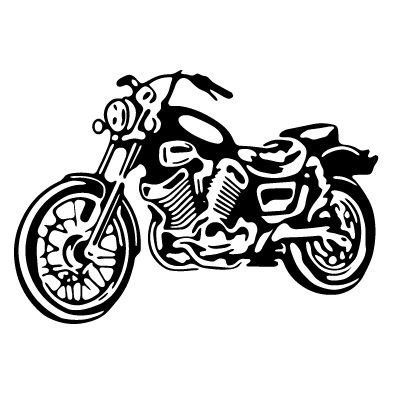 Free motorcylce cliparts download. Motorcycle clipart stencil