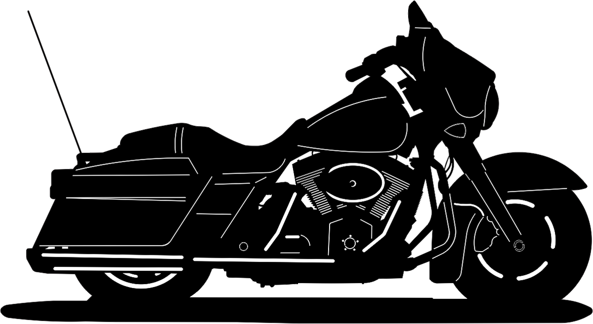 Harley davidson dxf group. Motorcycle clipart street glide