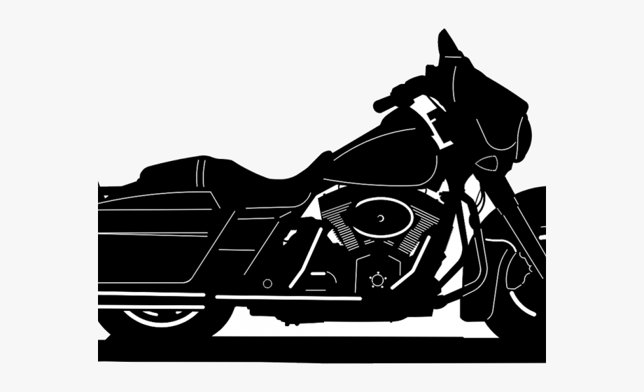 Motorcycle clipart street glide. Harley davidson