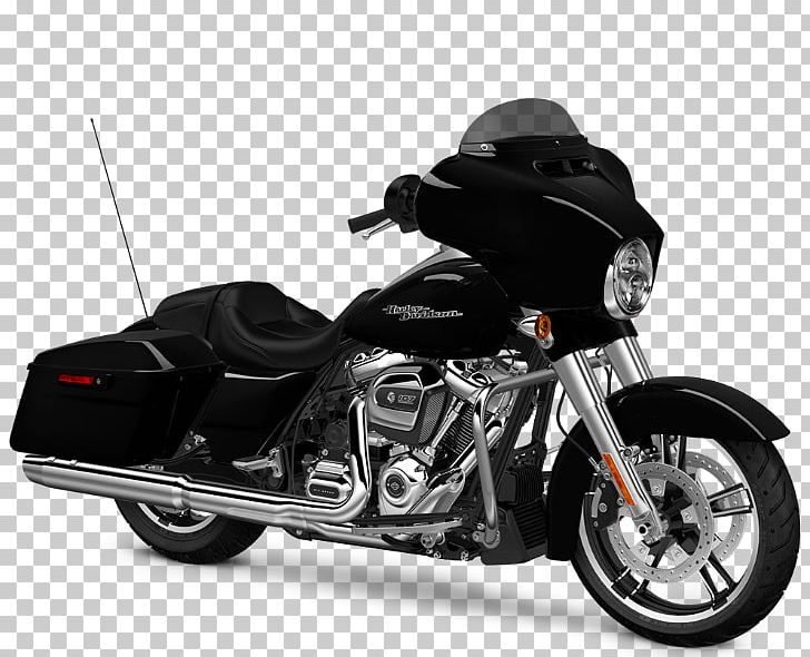 Harley davidson touring . Motorcycle clipart street glide