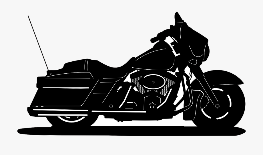 Harley davidson . Motorcycle clipart street glide