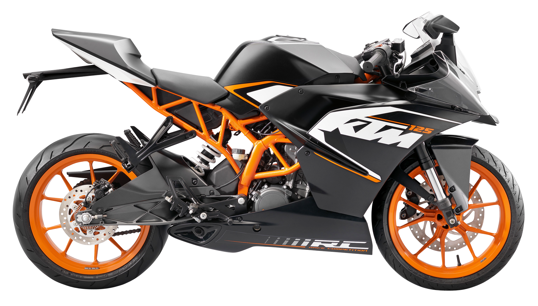 Motorcycle clipart superbike. Ktm rc bike png