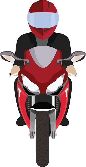 Free front cliparts download. Motorcycle clipart top view