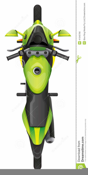 Free images at clker. Motorcycle clipart top view