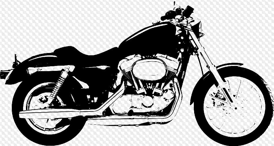 png harley davidson. Motorcycle clipart transparent background