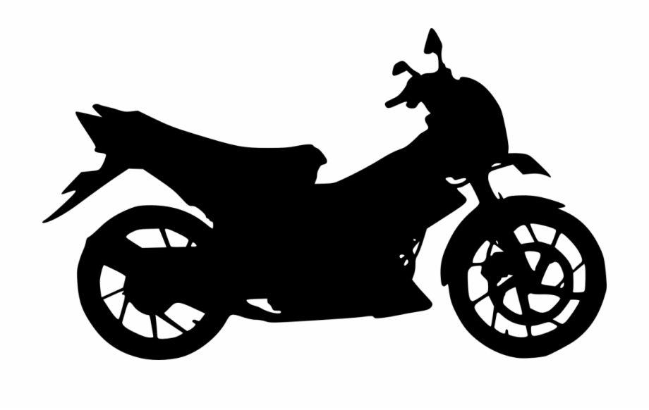 Motorcycle clipart transparent background. Silhouette png free images