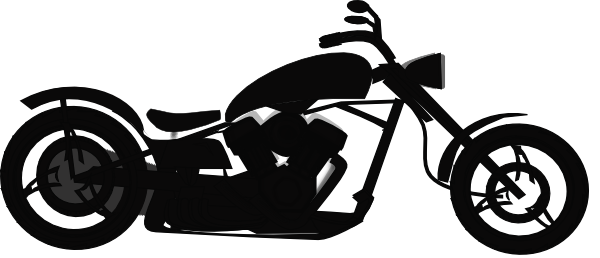 Motorcycle clipart transparent background. Free download clip art