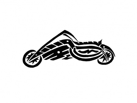 Free tattoos download clip. Motorcycle clipart tribal