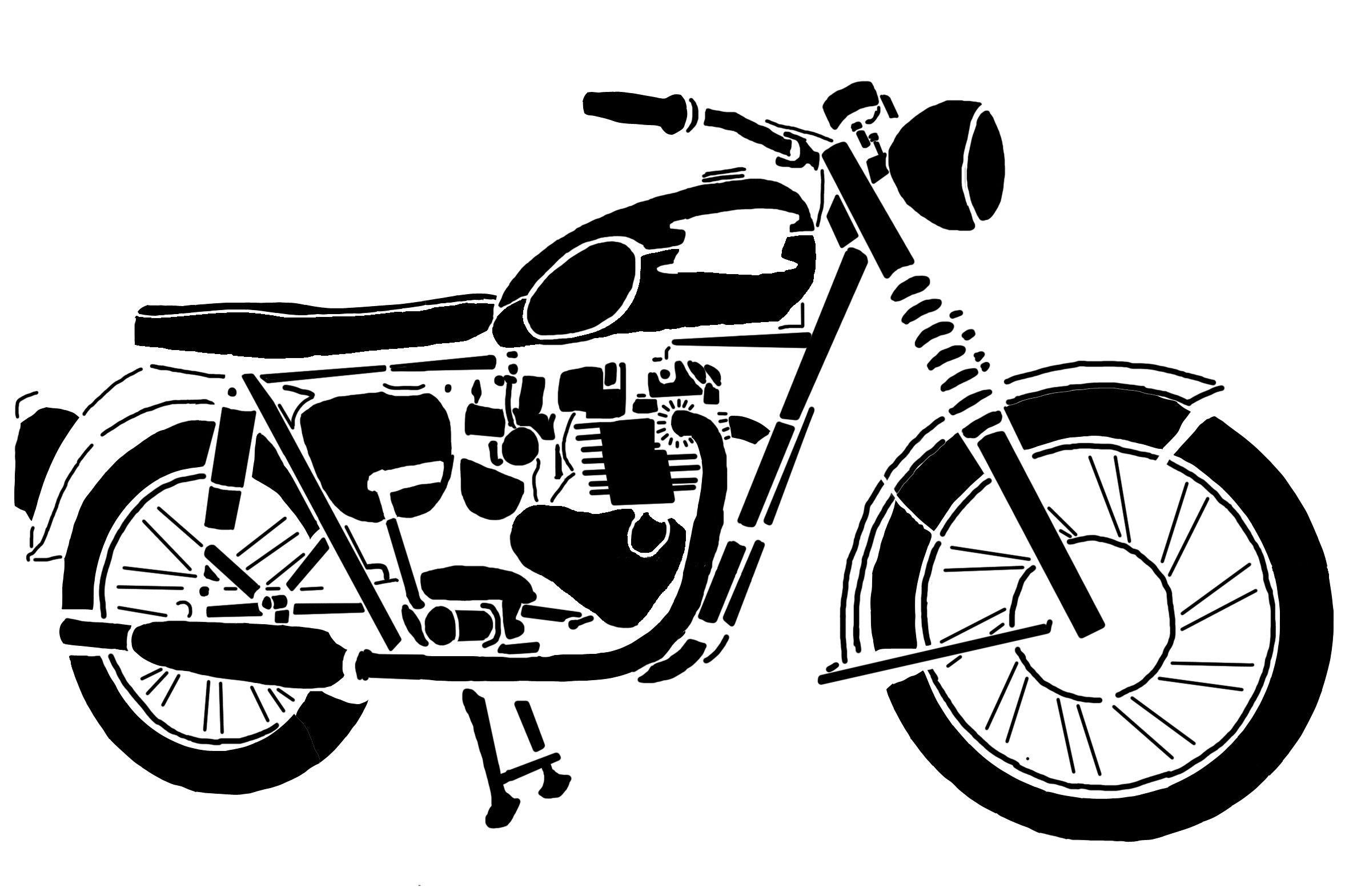 Bonneville stencil projects bikes. Motorcycle clipart triumph motorcycle