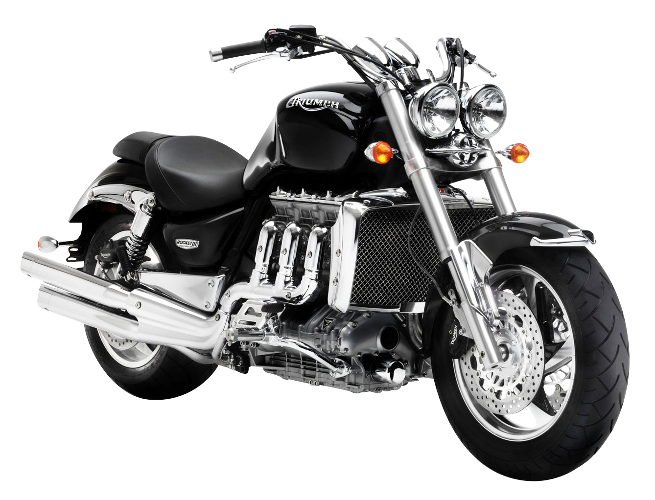 Motorcycle clipart triumph motorcycle. Rocket iii png image