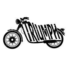 Motorcycle clipart triumph motorcycle. Vintage logo google search