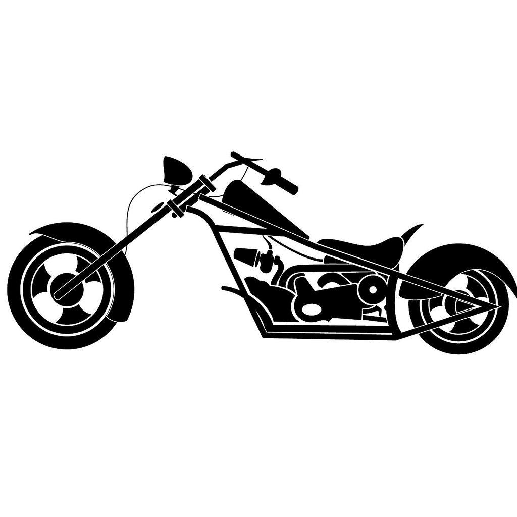 Motorcycle clipart vector. Free art download clip