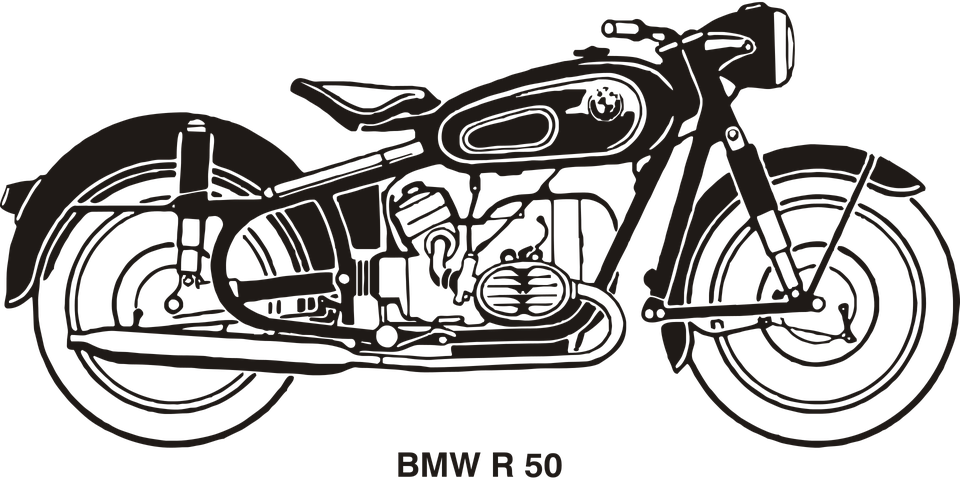 collection of old. Motorcycle clipart vintage motorcycle