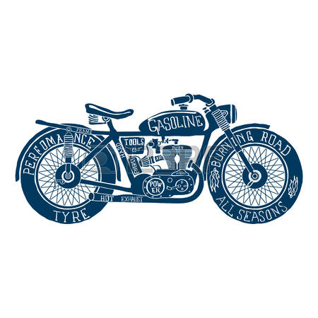 Free download best . Motorcycle clipart vintage motorcycle