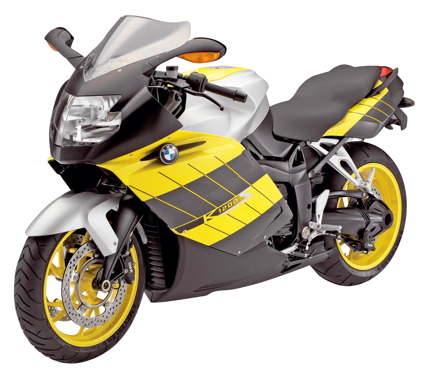 Motorcycle clipart yellow motorcycle. Bmw k s sport