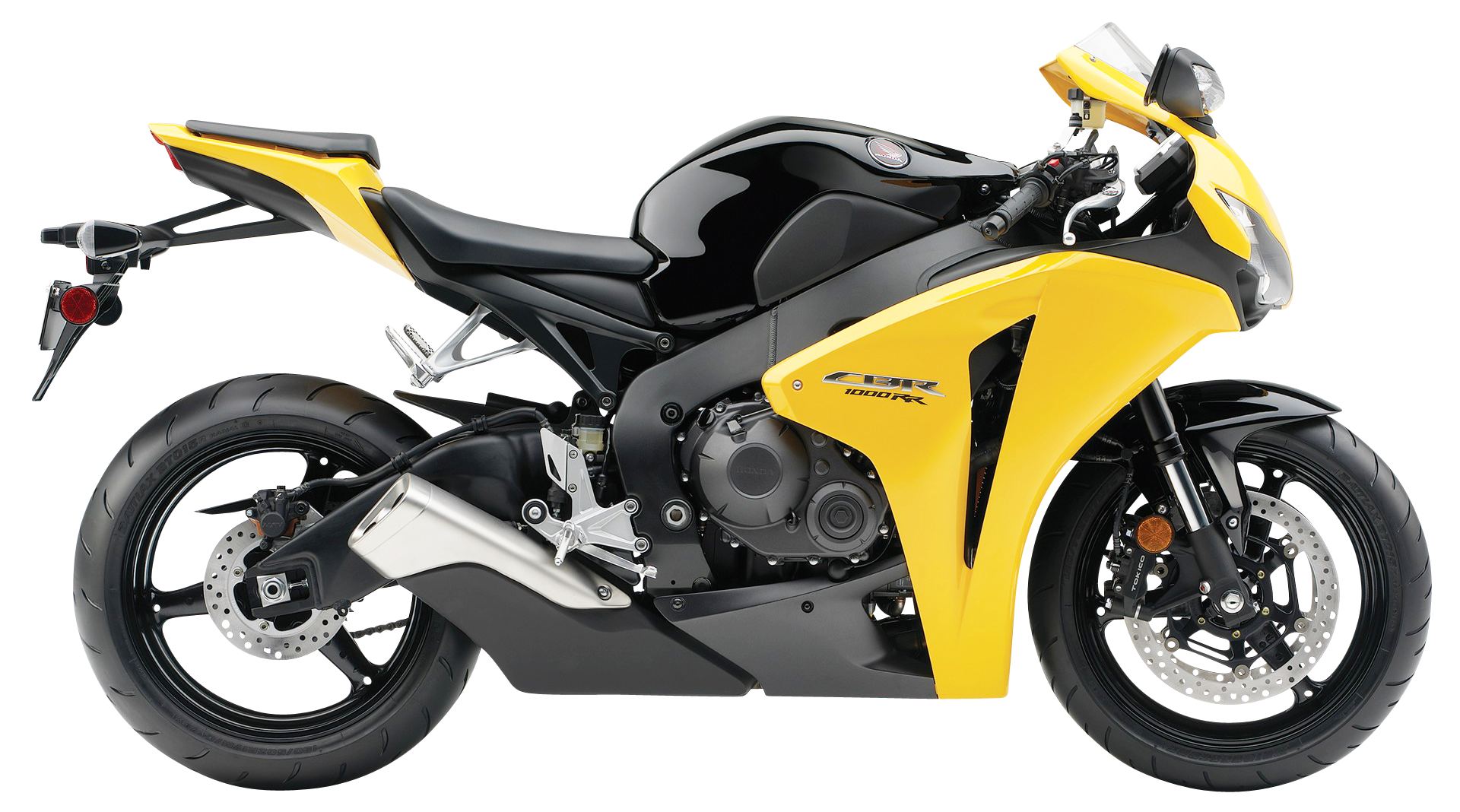 Honda cbr rr bike. Motorcycle clipart yellow motorcycle