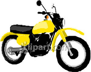 And black royalty free. Motorcycle clipart yellow motorcycle