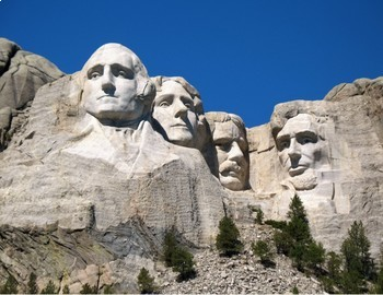 Free presidents day printable. Mount rushmore clipart
