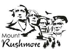 Clip art pinterest and. Mount rushmore clipart