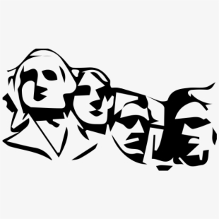 Mount rushmore clipart animated. Drawing rubber stamping download
