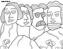 Mount rushmore clipart doodle. Sketch at paintingvalley com