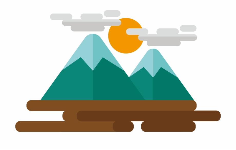 Mountains png clip art. Mountain clipart cartoon