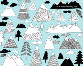 Tattoos piercings in how. Mountains clipart cute