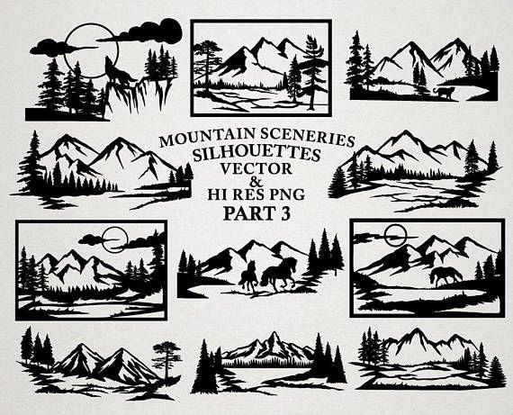 Pin by abbey adams. Mountain clipart mountain scenery