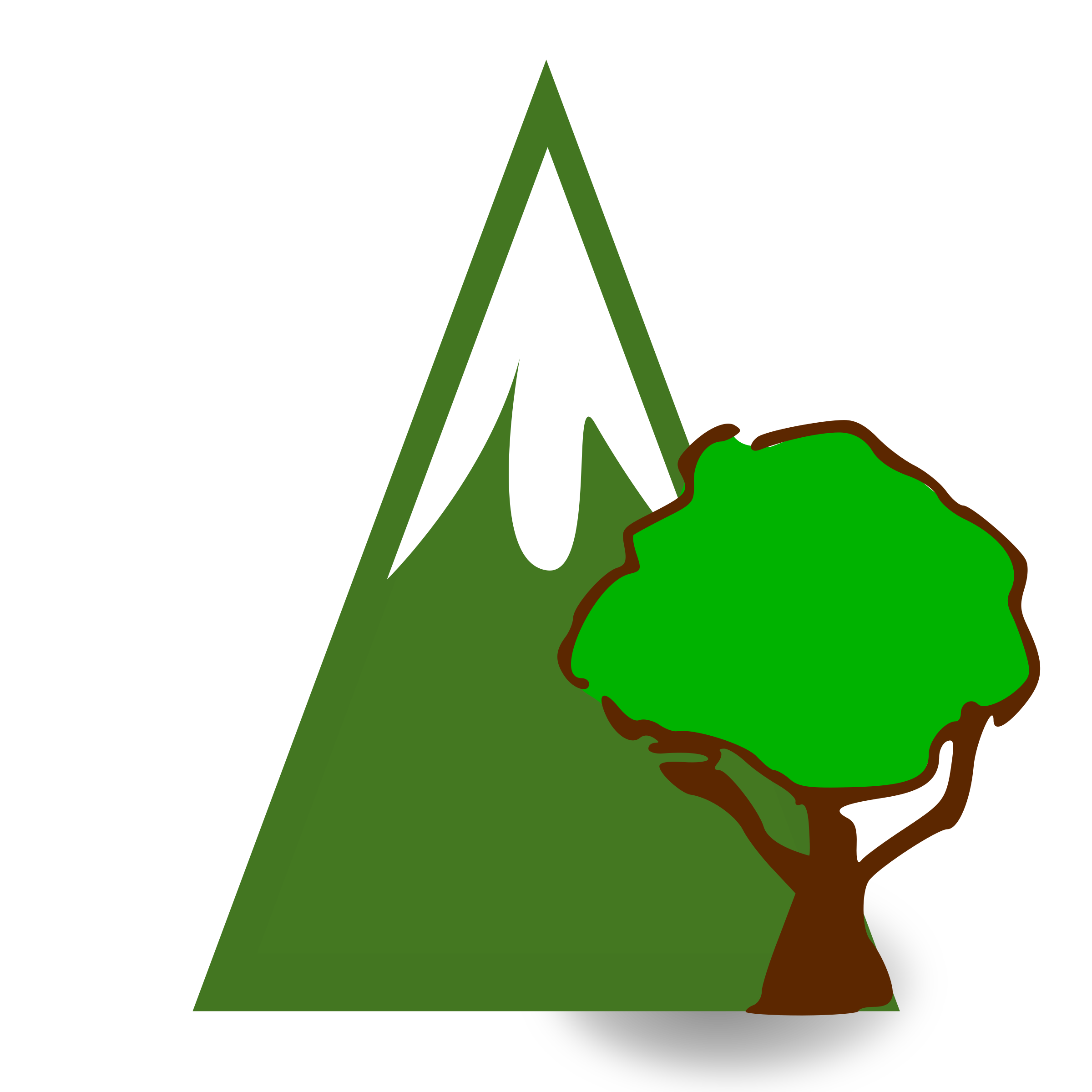 Cliparthut free forested . Nature clipart mountain