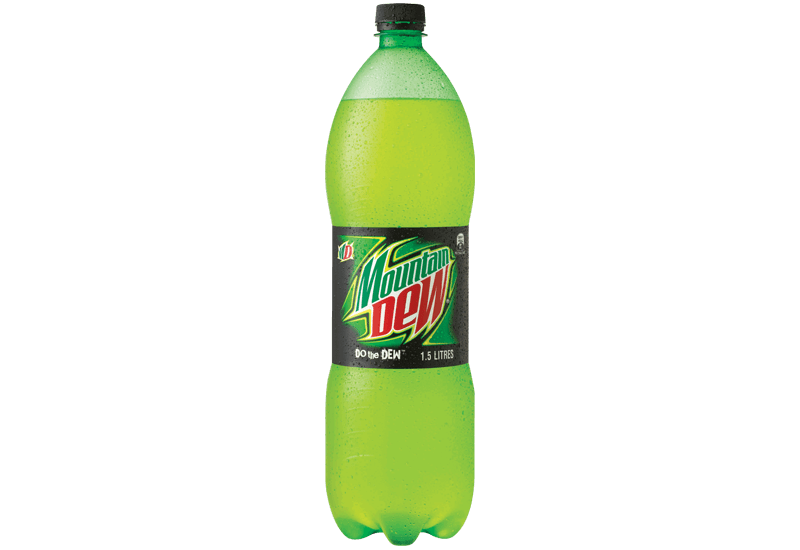Transparent images pluspng menu. Mountain dew bottle png