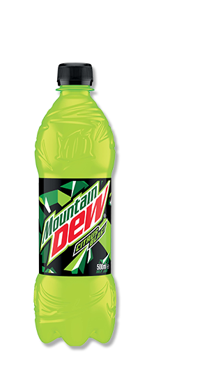 Drinks. Mountain dew bottle png