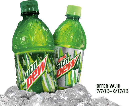 Mountain dew bottle png.  coupon life with