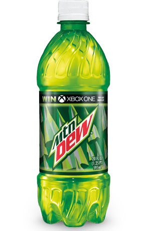 Transparent stickpng download food. Mountain dew bottle png