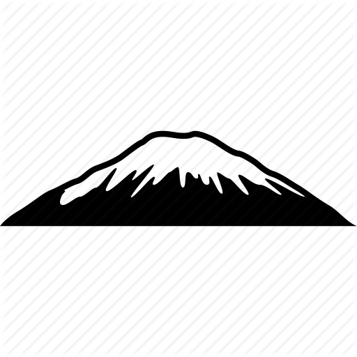 Mountain icon png. Basic mobile part by