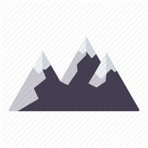 Colorix camping and outdoors. Mountain icon png