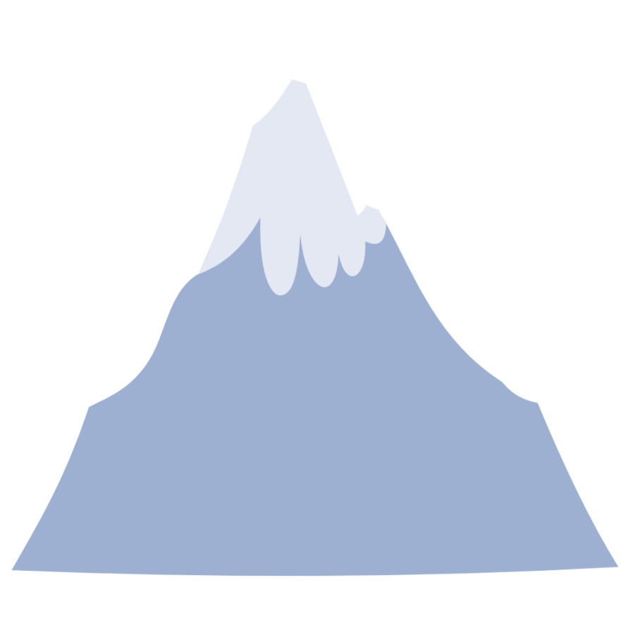 Mountain vector png. By misteraibo on deviantart