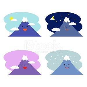 Mountains clipart high mountain. Smiling mount fuji premium