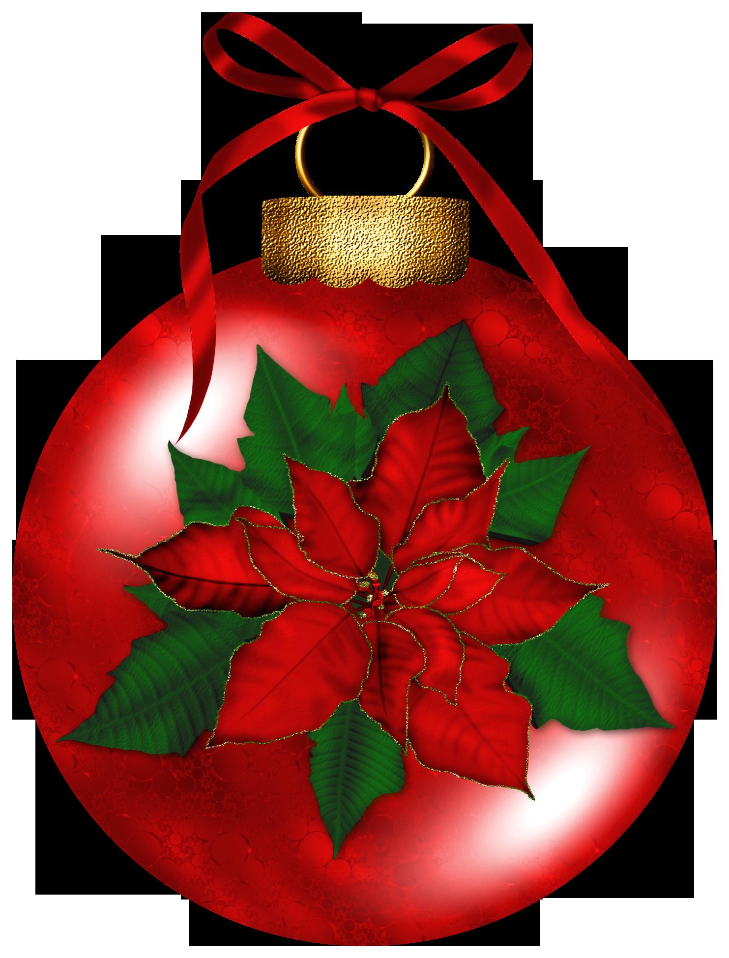 Poinsettias clipart ornament. Poinsettia holiday garland free