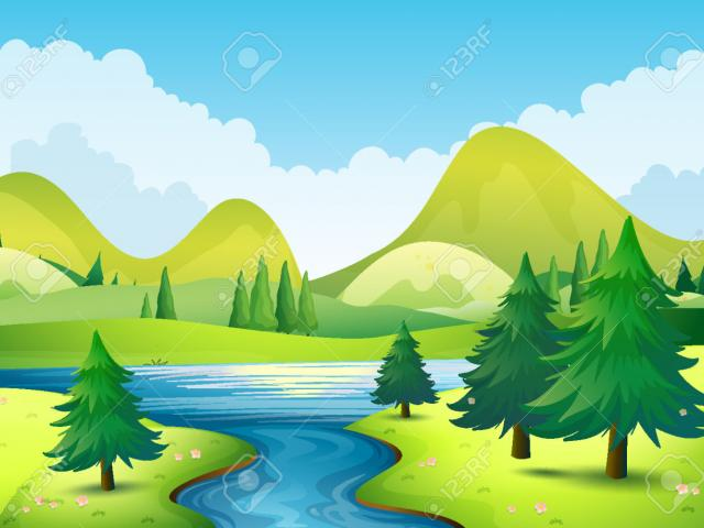 Free download clip art. Mountains clipart mountain scenery