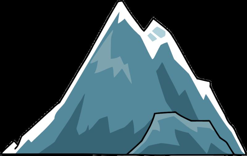 Mountains clipart mountain slope. Clip art iceberg cartoon