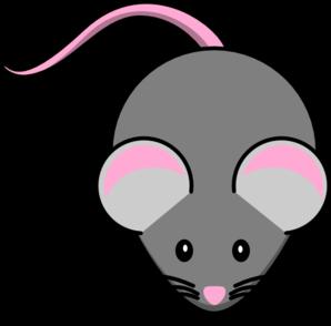 Cute . Mouse clipart