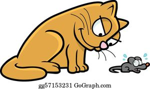Mouse clipart cat. And clip art royalty