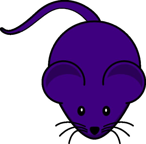 Purple art clip at. Mouse clipart simple