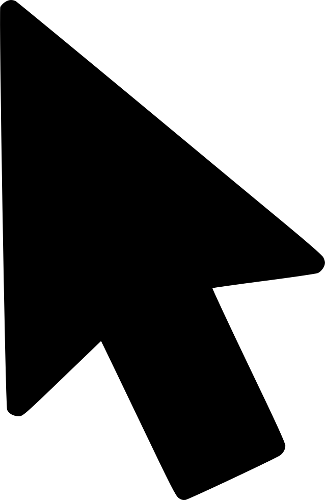 Mouse icon png. Arrow cursor pointer navigation