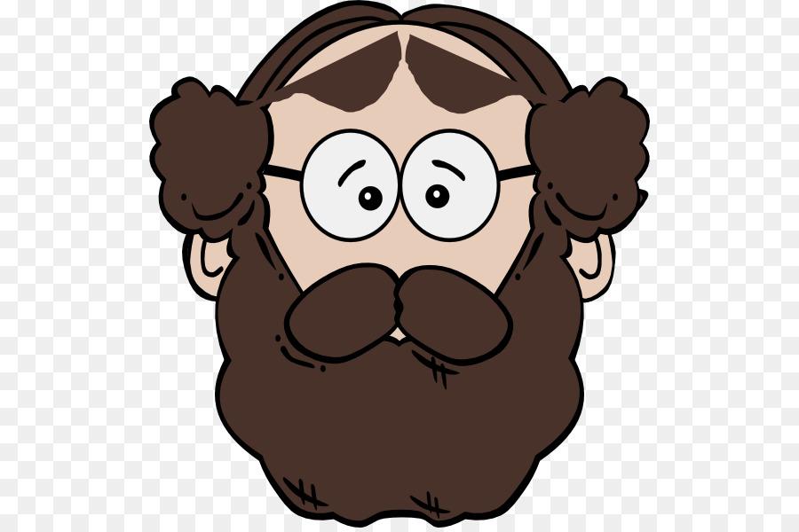 Cartoon beard nose . Moustache clipart animated